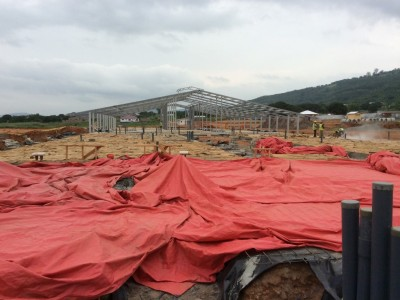 6th August 2014 Dodowa Site Progress