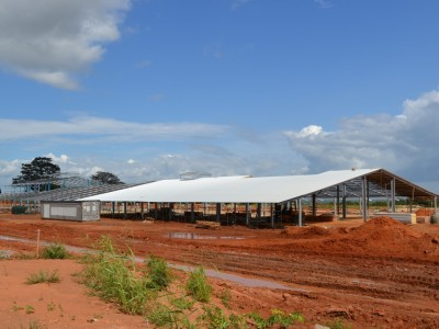 12th October 2014 Dodowa Main Building - Roof Going On