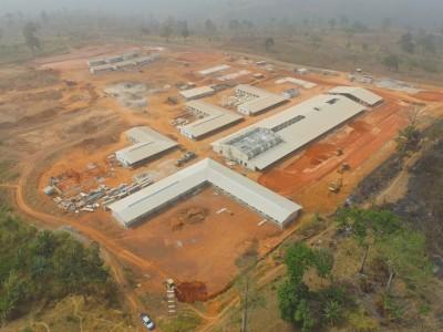 2nd February 2016 Kumawu Hospital Aerial View