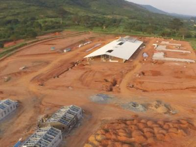 2nd November 2014 Dodowa Hospital Site Aerial Photo