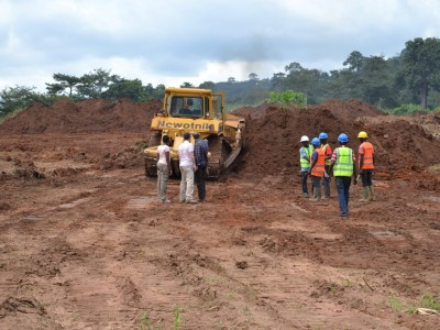 15th October 2014 Kumawu Site Clearance