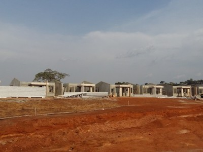 11th March 2016 Abetifi Site Photos Residential Buildings
