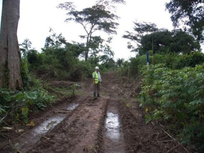 2nd October 2014 Abetifi Hospital Site Boundary