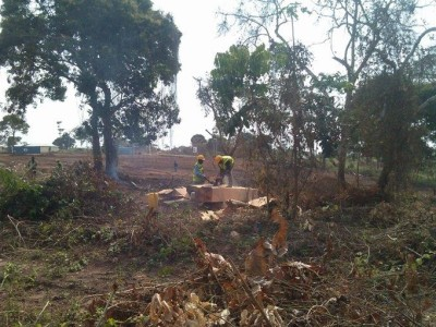 31St January 2015 Abetifi Site Clearance