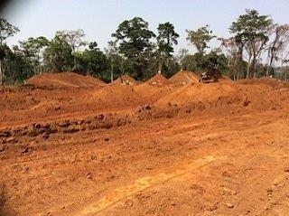 2nd March 2015 Abetifi Hospital Earthworks