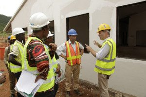 Dodowa District Hospital - Media Visit May 2015