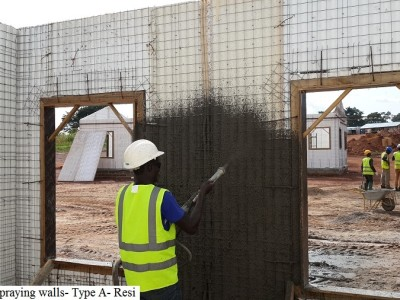 14th May 2015 Kumawu Site Staff Housing