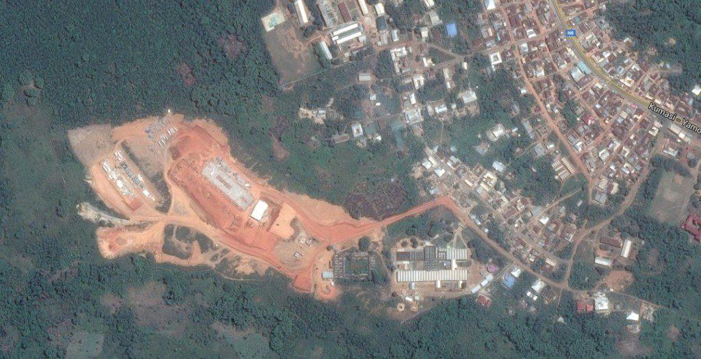 Fomena - Google Earth Image