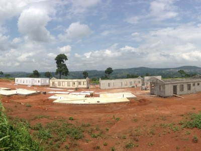 30th June 2015 Kumawu Hospital Staff Housing