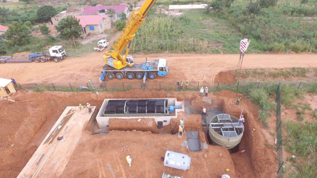 21st July 2015 Dodowa Waste Water Treating Plant