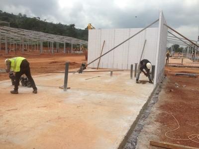 25th July 2015 Kumawu Hospital Staff Panel Walls