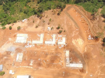 12th August 2015 Abetifi Hospital Aerial Photo
