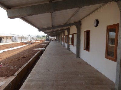 11th August 2015 Dodowa Hospital Walkway