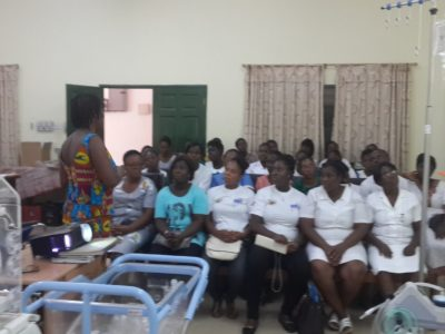 10th August 2015 Dodowa Familiarization Training