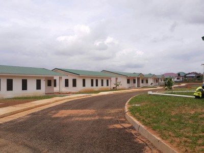 18th August 2015 Dodowa Hospital Staff Housing