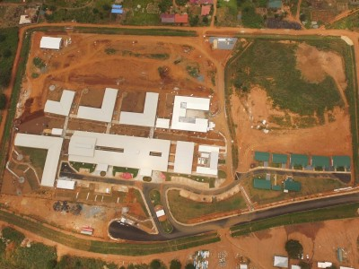 27th August 2015 Dodowa Hospital Aerial Photo