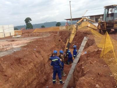 27th August 2015 Kumawu Hospital Drainage Line