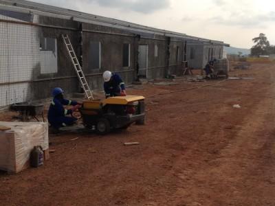 31st August 2015 Kumawu Hospital Ward Building