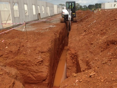 1st October 2015 Abetifi Hospital Drainage Lines