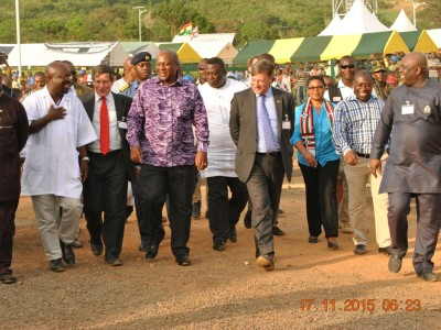 17th November 2015 Dodowa Hospital Presidential Visit