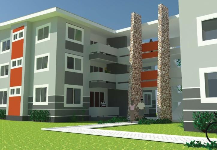 Takoradi Housing 2 bed flats