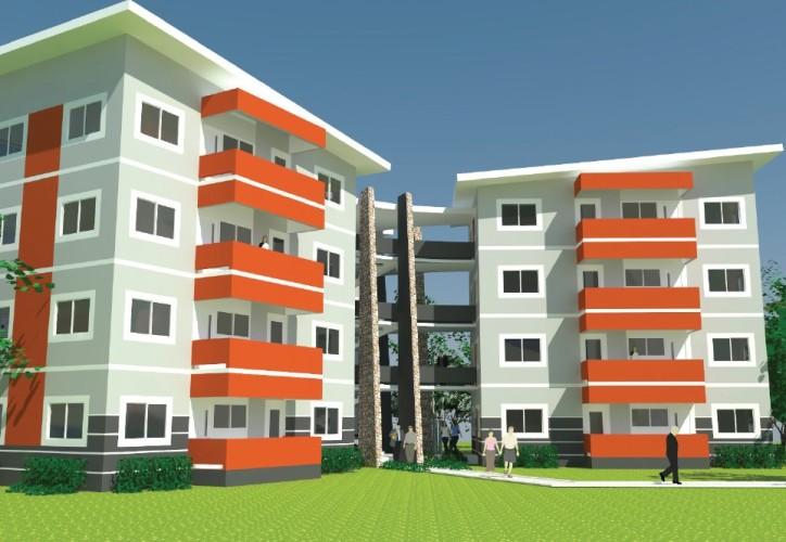 Takoradi Housing 3 bed flats