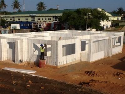 30th November 2015 Takoradi European Hospital Staff Housing