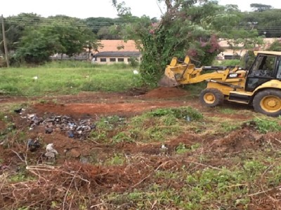3rd December 2015 Takoradi European Hospital Infectious Disease Centre Site Clearing