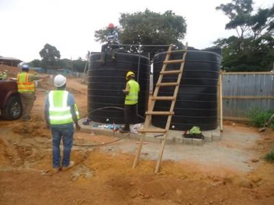 9th August 2015 Takoradi European Hospital Staff Housing