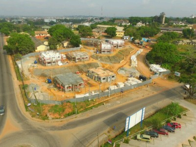 16th January 2016  Takoradi European Hospital Ariel View