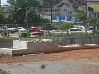 8th April 2016 Takoradi European Housing Waste Water Tank