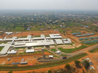 23rd January 2016 Dodowa Hospital Aerial View