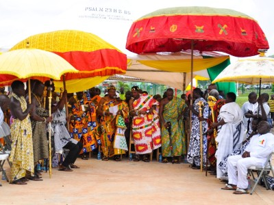 4th April 2016 Dodowa Ceremonial Handover