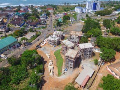 03rd May 2016 Takoradi Housing Aerial View