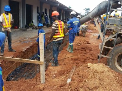 24th May 2016 - Kumawu Main Building Drains