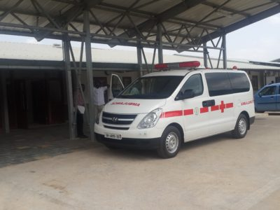 30th June 2016 Dodowa Hospital Ambulance