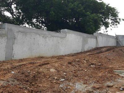 09th July 2016 Takoradi Housing Site Wall