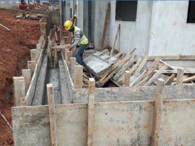 29th July 2016 Takoradi Housing Drainage