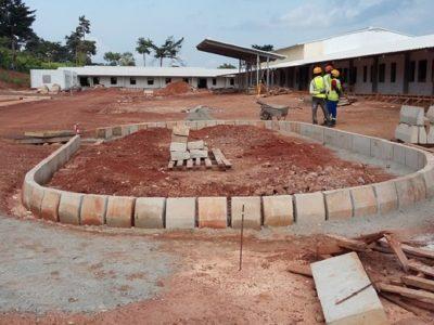23rd August 2016 - Kumawu Hospital Main Entrance