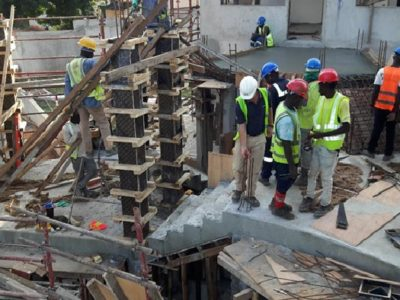 14th October 2016 Takoradi Housing Staircases