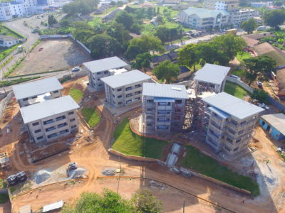 25th October 2016 Takoradi Housing Aerial View