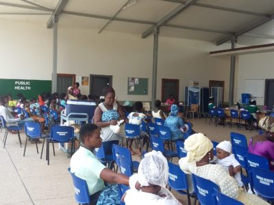 11th July 2017 Dodowa Mothers Clinic